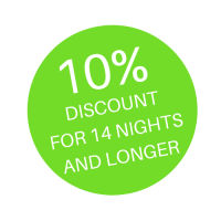 10% DISCOUNT FOR 14 NIGHTS AND LONGER (3)